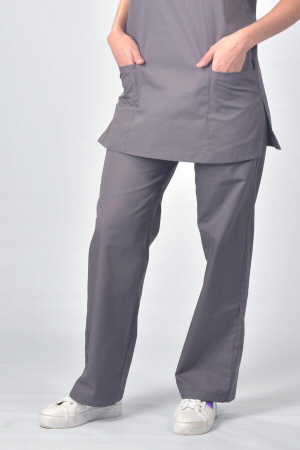 Grey Jordan Scrub Pants